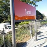 Update station signage at Taree