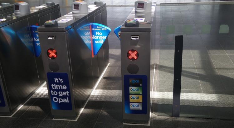 Opal Ticket Barriers