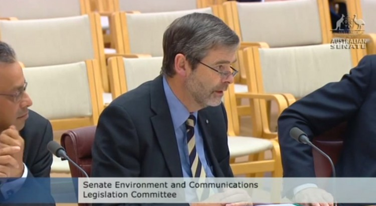 Drew Clarke at Senate Estimates