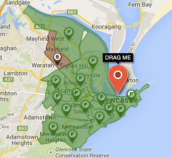 NBN Rollout Map: Newcastle (FTTN)