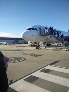Tigerair Airbus landed at Melbourne Tullamarine Airport